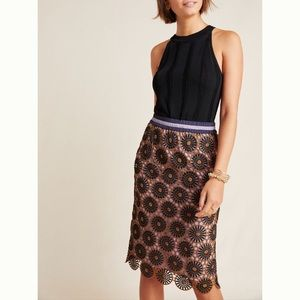NWT Loire Lace Pencil Skirt